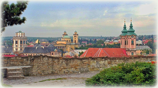 Kirchen in Eger Cheb
